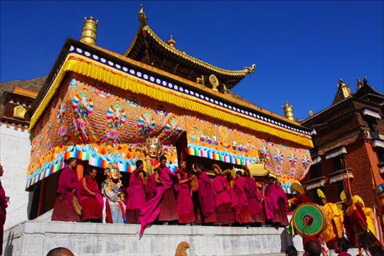 西藏雪顿节晒大佛专业摄影创作团 - cd-pa - 逐影随行
