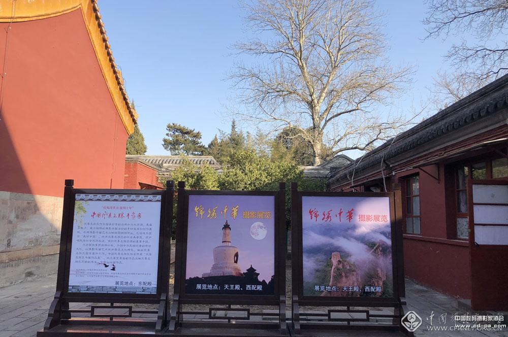 展览在古色古香的北海公园阐福寺天王殿、西配殿展出。张双双 摄.jpg